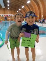 Children at East Hants Pool