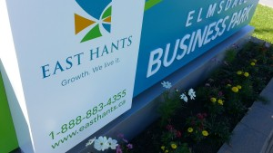 Elmsdale Business Park Sign