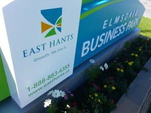 Elmsdale Business Park Sign