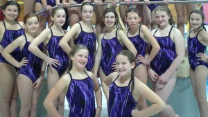 East Hants Synchro team