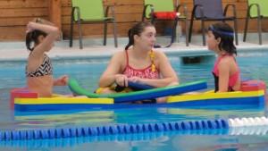 pool swim lessons milford summer