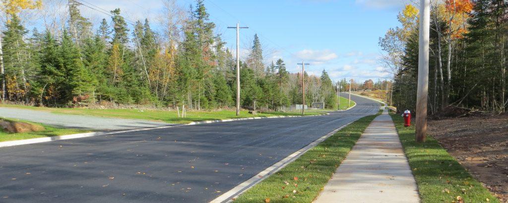 roads sidewalks streetlights municipality of east hants
